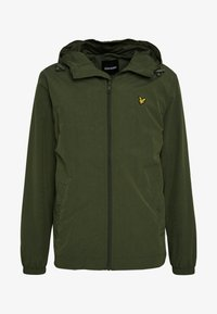 Lyle & Scott - ZIP THROUGH HOODED JACKET - Korte jassen - lichen green - 3