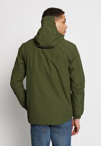 Lyle & Scott - ZIP THROUGH HOODED JACKET - Korte jassen - lichen green - 2