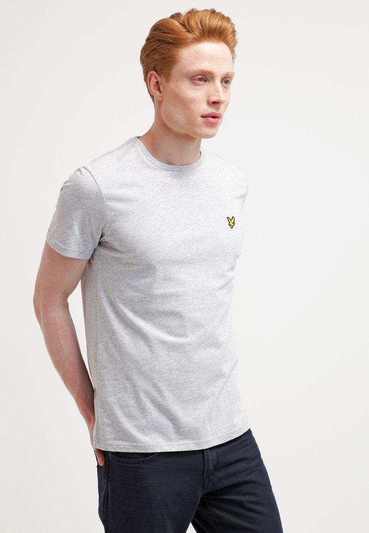 Lyle & Scott - CREW NECK - Basic T-shirt - light grey marl