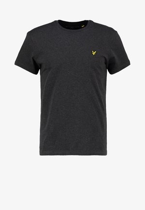 CREW NECK - T-shirt basic - charcoal marl