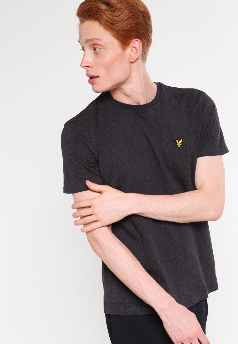Lyle & Scott - CREW NECK - T-shirt basic - charcoal marl