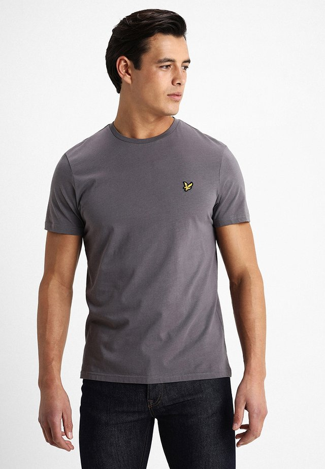 CREW NECK - Basic T-shirt - pelican grey
