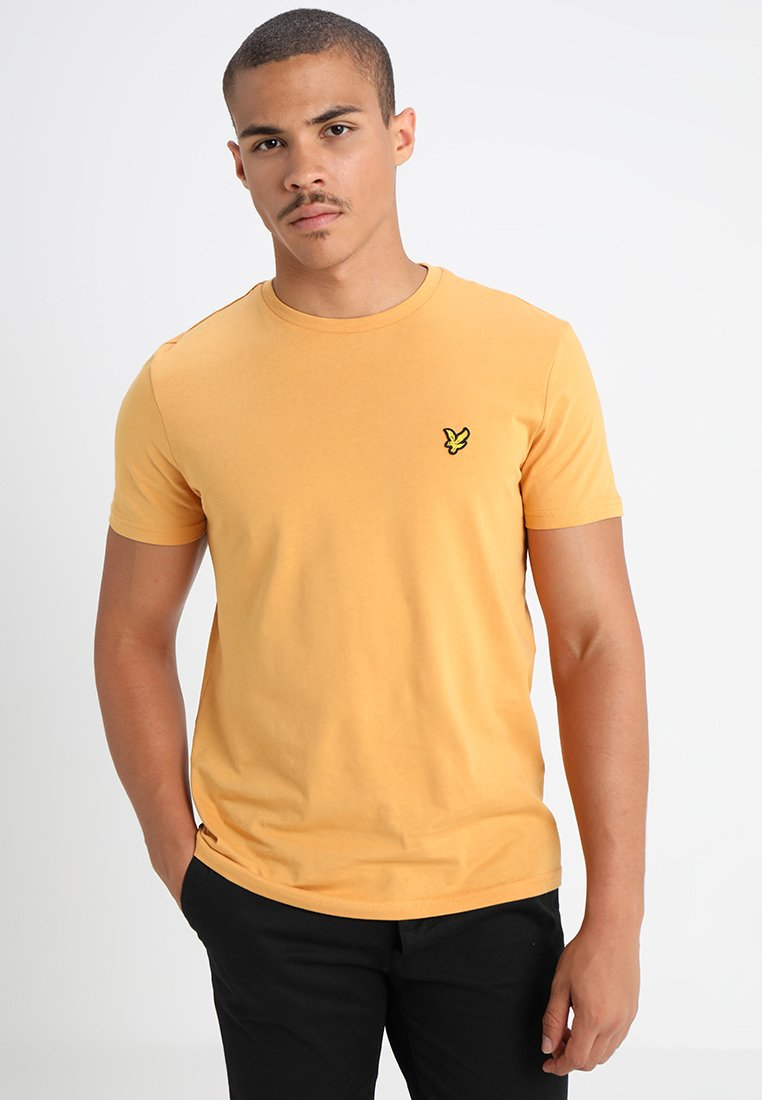 Lyle & Scott - CREW NECK - Basic T-shirt - honey