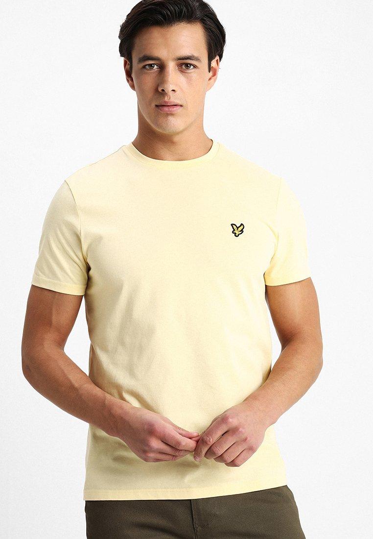 Lyle & Scott - CREW NECK - Basic T-shirt - vanilla cream