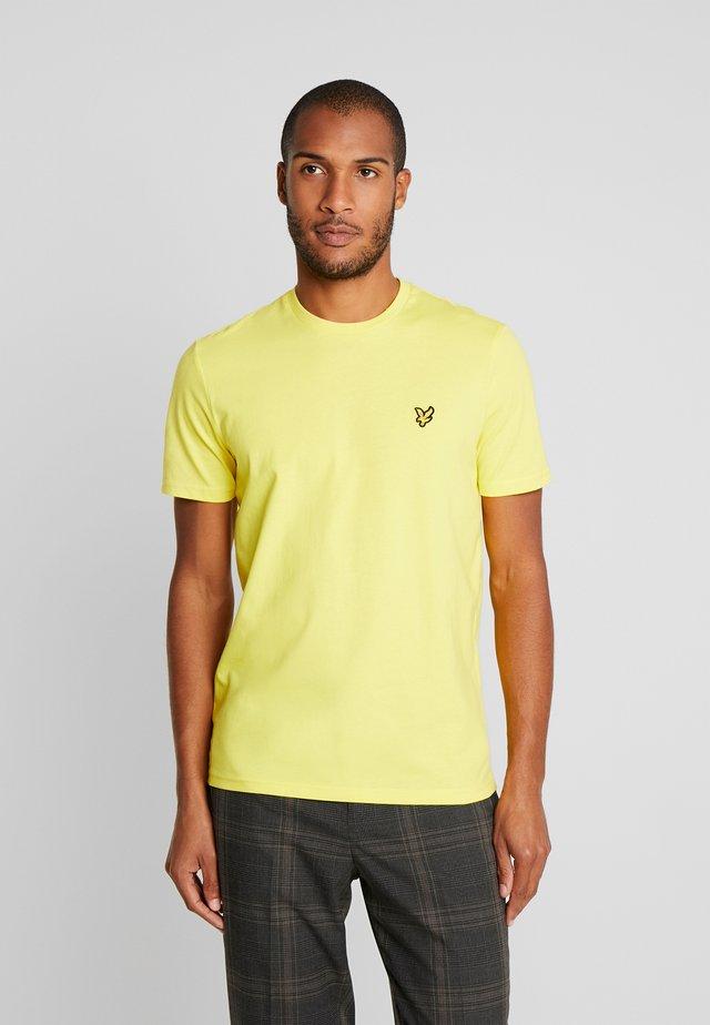 CREW NECK - T-shirt - bas - buttercup yellow