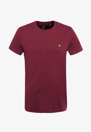 CREW NECK - Basic T-shirt - claret jug
