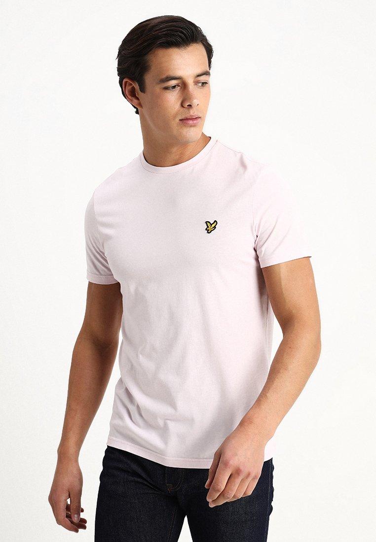 Lyle & Scott - CREW NECK - T-Shirt basic - dusky lilac