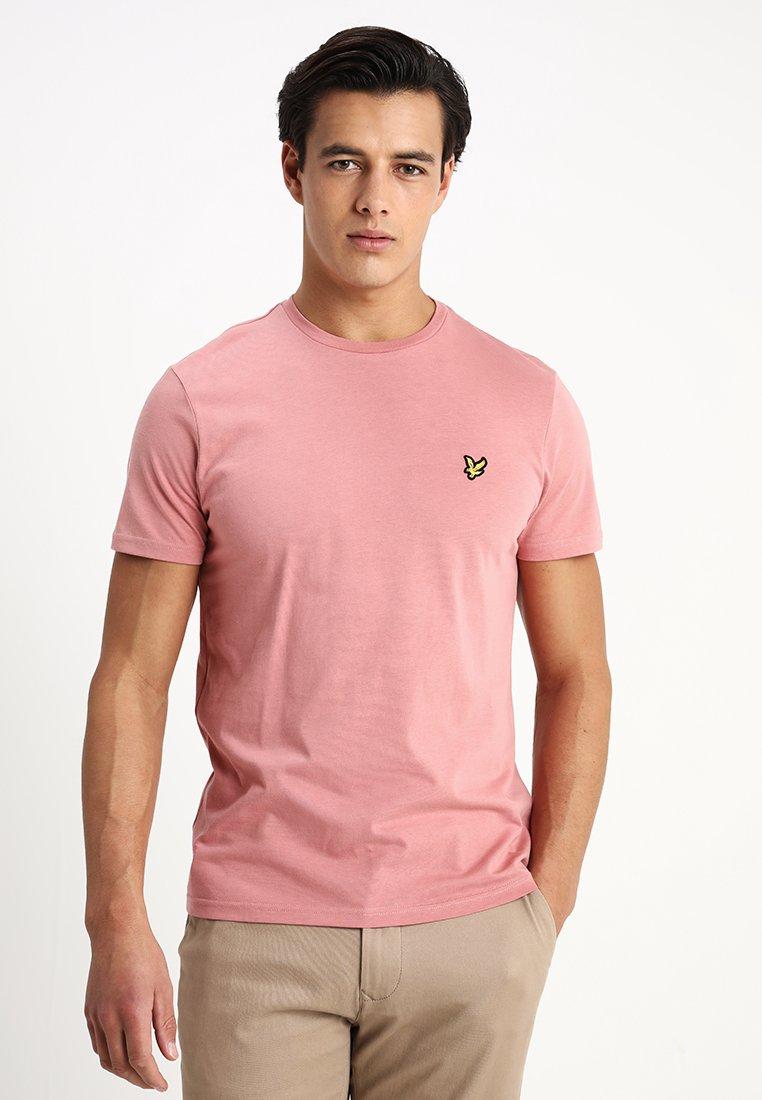 Lyle & Scott - CREW NECK - Basic T-shirt - pink shadow
