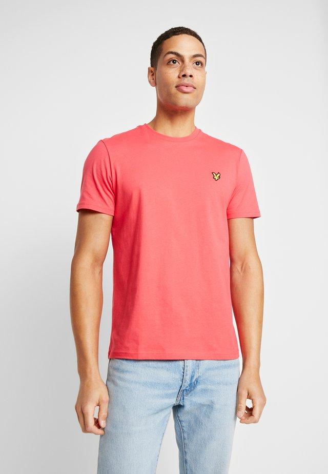 CREW NECK - T-shirt - bas - geranium pink