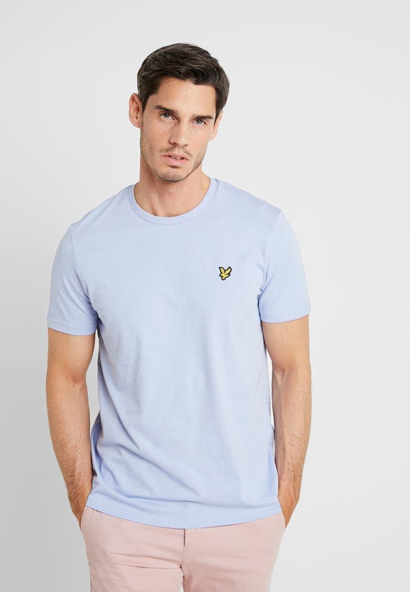 Lyle & Scott - CREW NECK - T-shirt basic - blue smoke