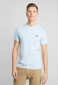 Lyle & Scott - CREW NECK - T-shirt basic - pool blue - 0