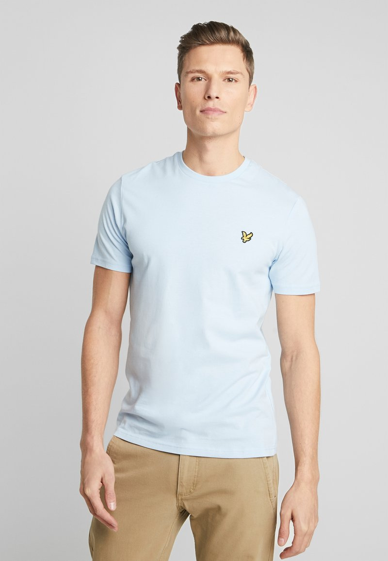 Lyle & Scott - CREW NECK - T-shirt basic - pool blue