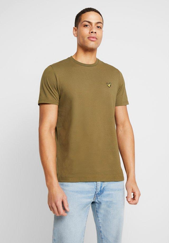 CREW NECK - T-shirt basic - lichen green