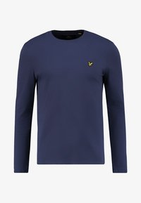 Lyle & Scott - CREW NECK PLAIN - Longsleeve - navy - 3