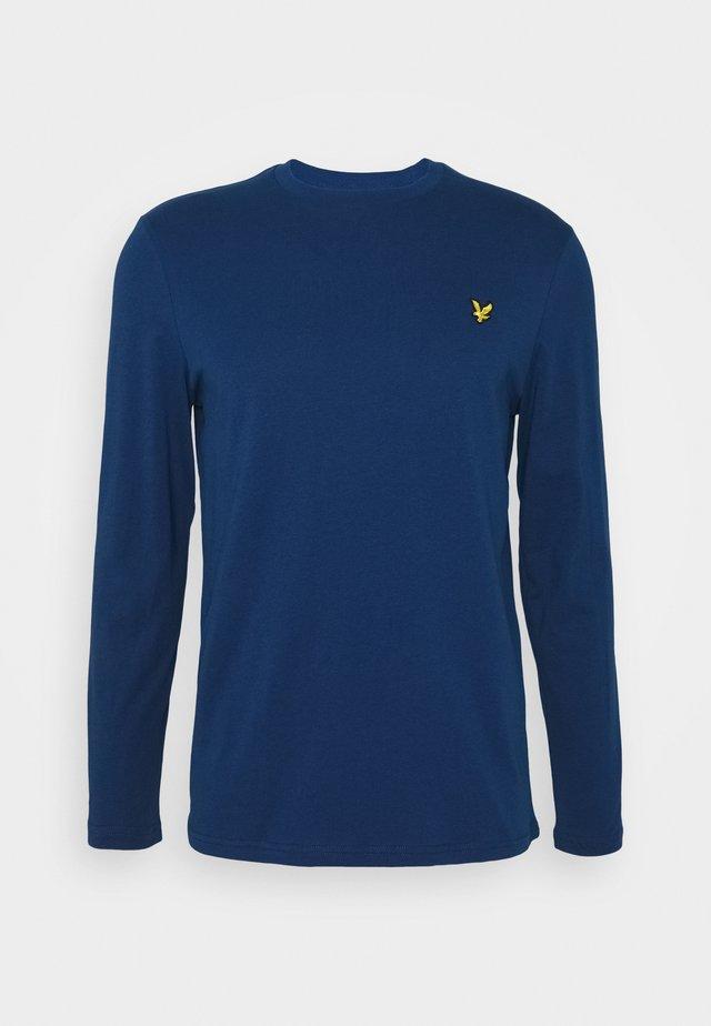 CREW NECK PLAIN - Langærmede T-shirts - indigo