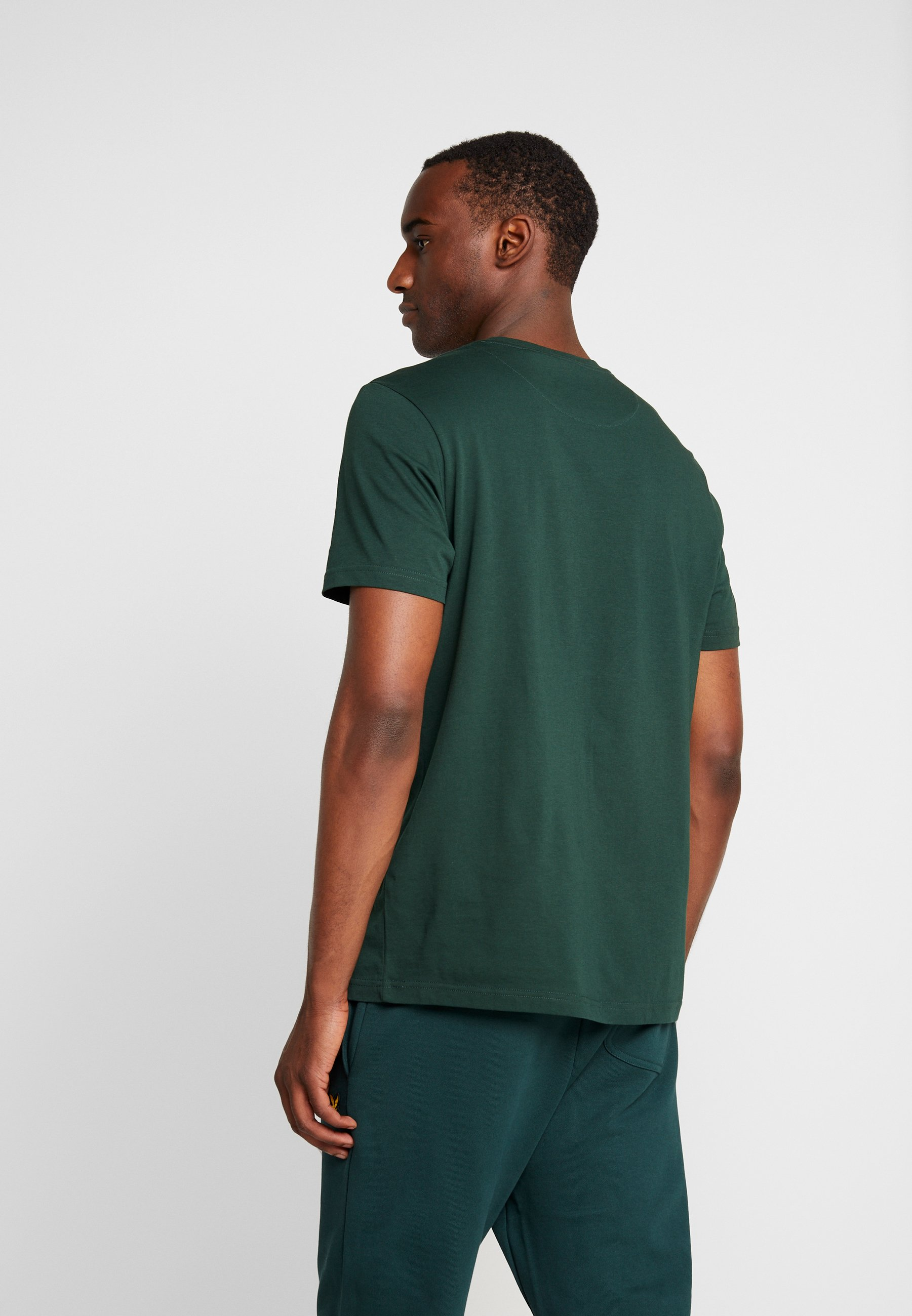 Lyleamp; NeckT Jade Crew shirt Green Scott Basique rxoedWCB