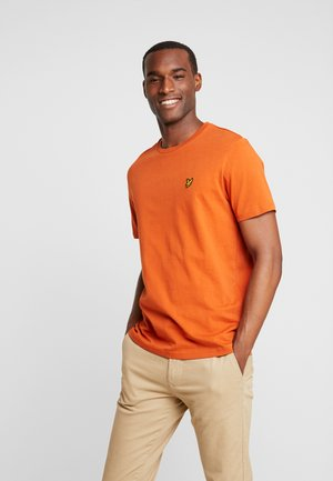 CREW NECK  - T-shirt basic - tobacco