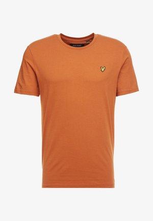 CREW NECK  - T-shirts basic - tobacco