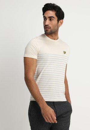 BRETON STRIPE  - T-shirt print - yellow