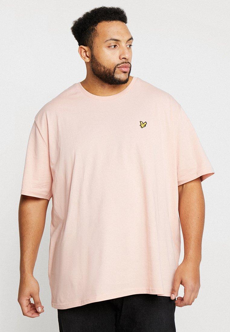 Lyle & Scott - CREW NECK - T-Shirt basic - coral way