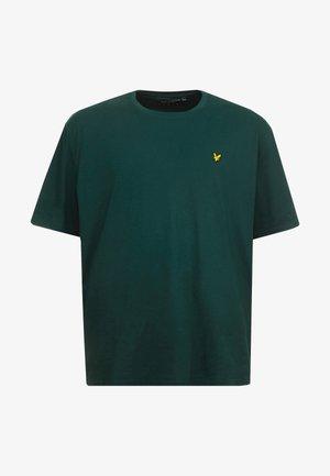 Jednoduché triko - jade green