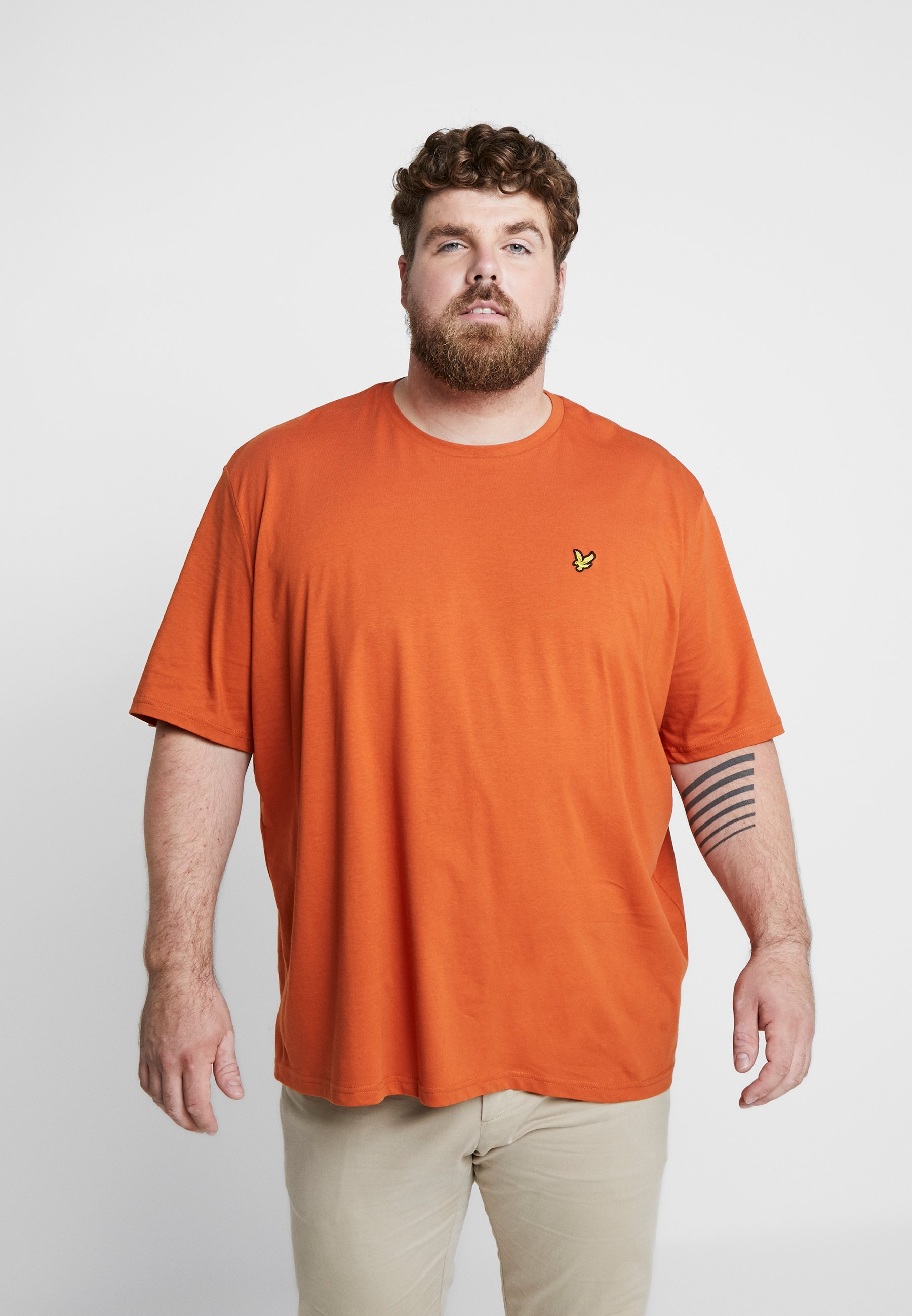 Tobacco NeckT Scott Crew Basique Lyleamp; shirt hQCrtsdx