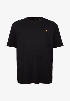 Jednoduché triko - jet black