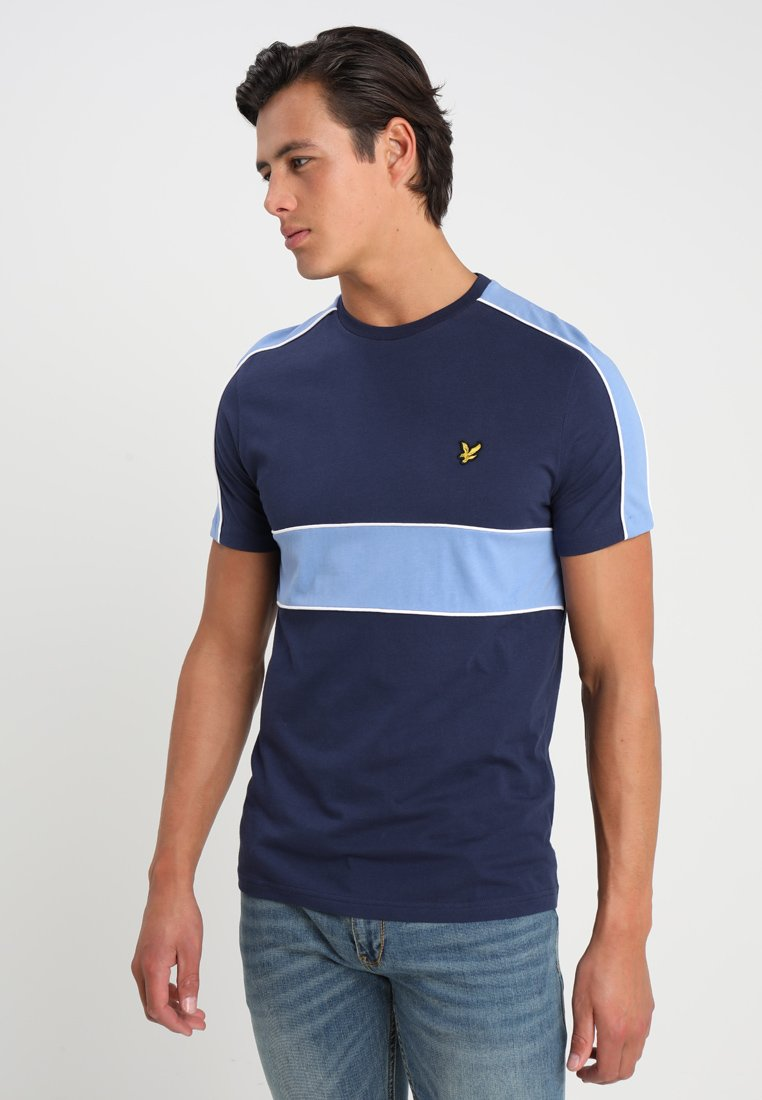 Lyle & Scott - CUT AND SEW - T-Shirt print - navy