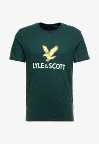 Lyle & Scott - LOGO - T-shirt print - jade green - 3