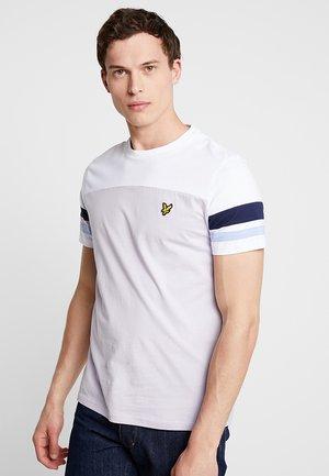 CONTRAST BAND - Basic T-shirt - lilac