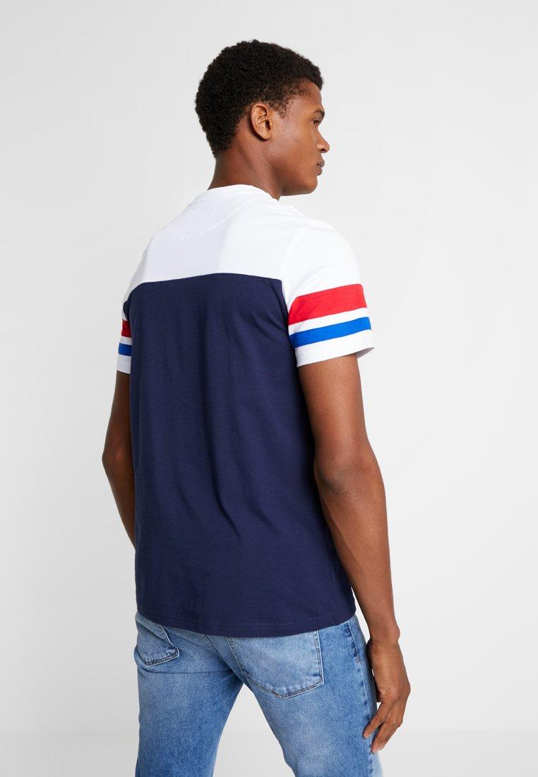 shirt Navy Lyleamp; Scott BandT Contrast Basique clFK1JTu3