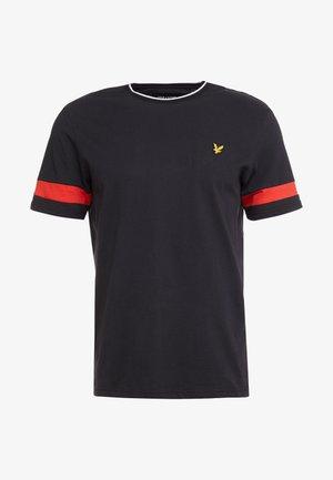 TIPPED - T-shirt basic - true black