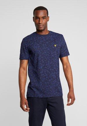 GEO - T-shirt print - navy