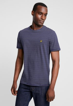 FINE STRIPE  - T-shirt print - navy