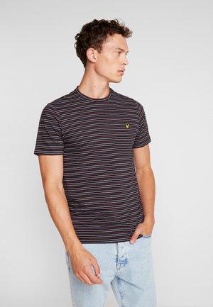 FINE STRIPE  - T-Shirt print - true black
