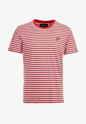 STRIPE - T-shirt imprimé - red