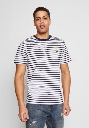 BRETON STRIPE  - T-Shirt print - navy/white