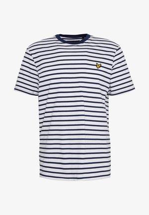 BRETON STRIPE  - Print T-shirt - navy/white