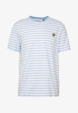 BRETON STRIPE  - T-shirt con stampa - pool blue/ white