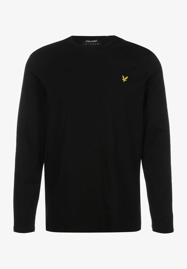 Langærmede T-shirts - jet black