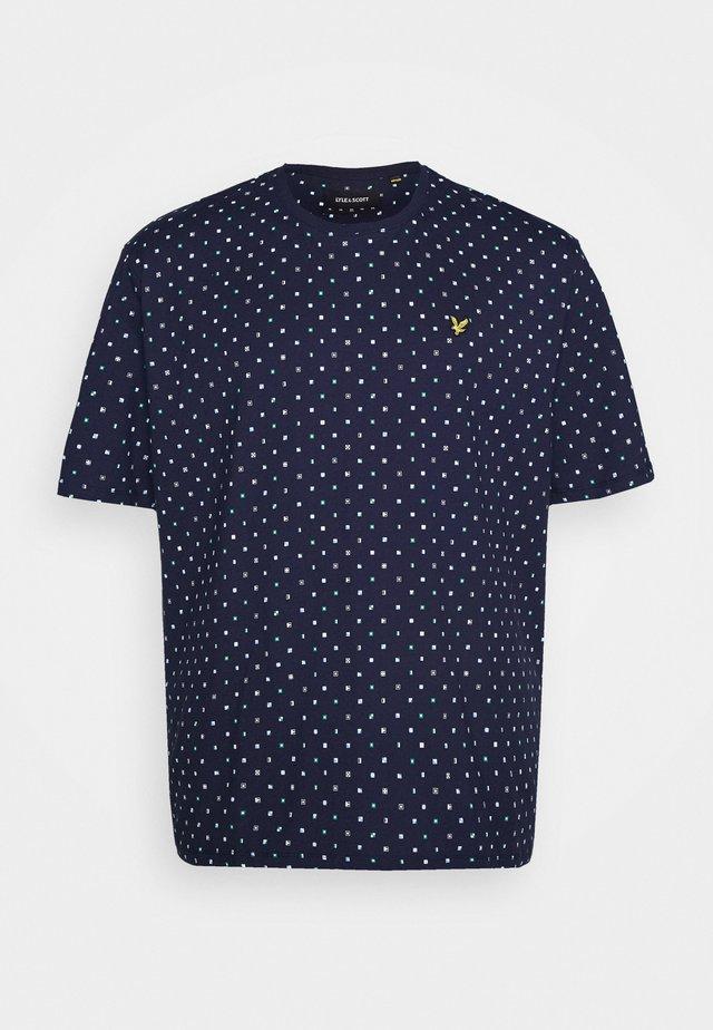 FLAG PRINT - T-Shirt print - navy