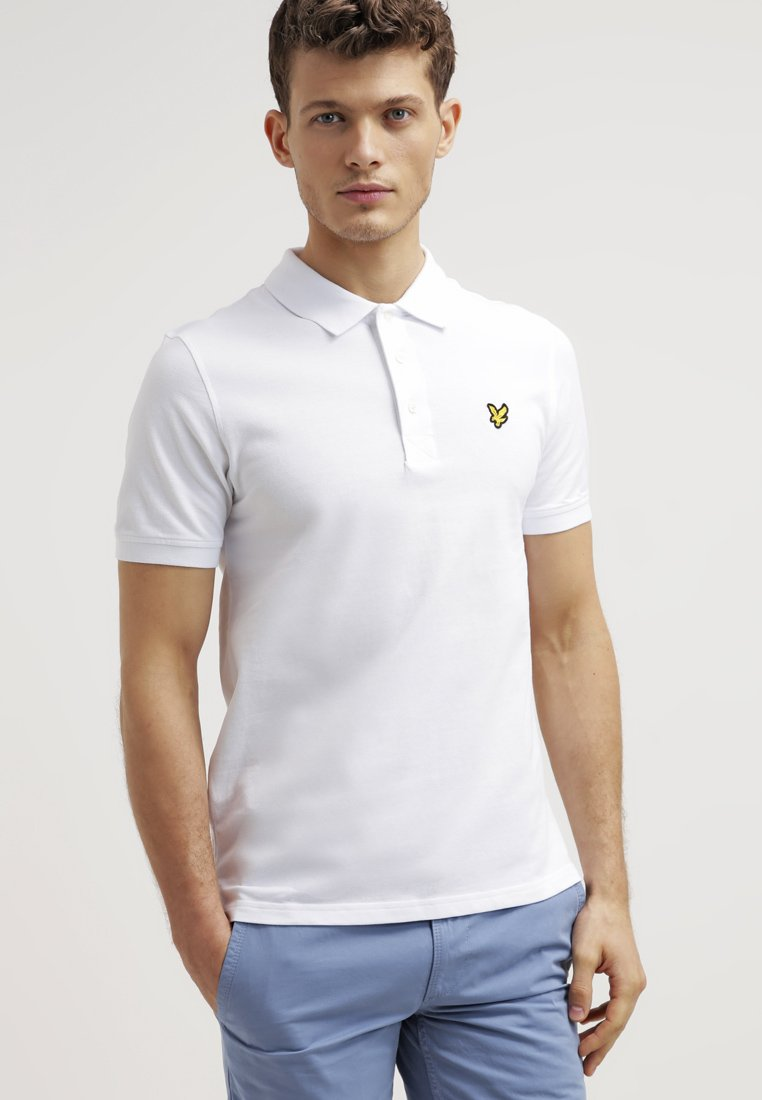 Lyle & Scott - PLAIN - Poloshirt - white