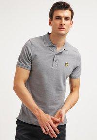 Lyle & Scott - PLAIN - Poloshirts - mid grey marl - 0