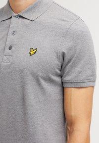 Lyle & Scott - PLAIN - Poloshirts - mid grey marl - 4