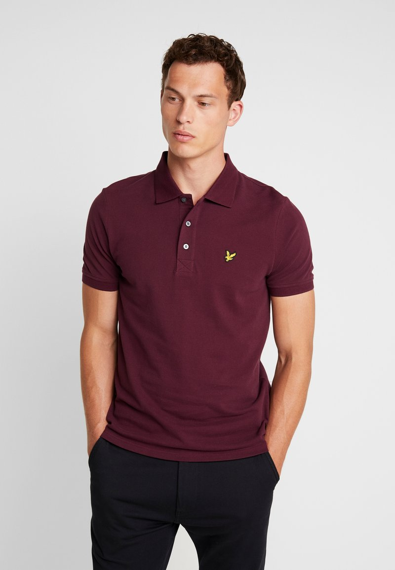 Lyle & Scott - Poloshirt - burgundy