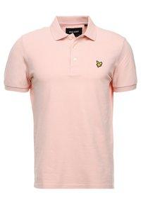 Lyle & Scott - PLAIN - Poloshirts - dusty pink - 3