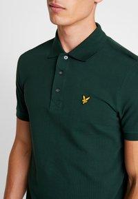 Lyle & Scott - PLAIN - Poloshirt - jade green - 4