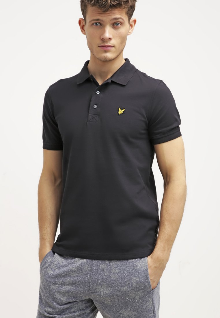 Lyle & Scott - PLAIN - Piké - true black