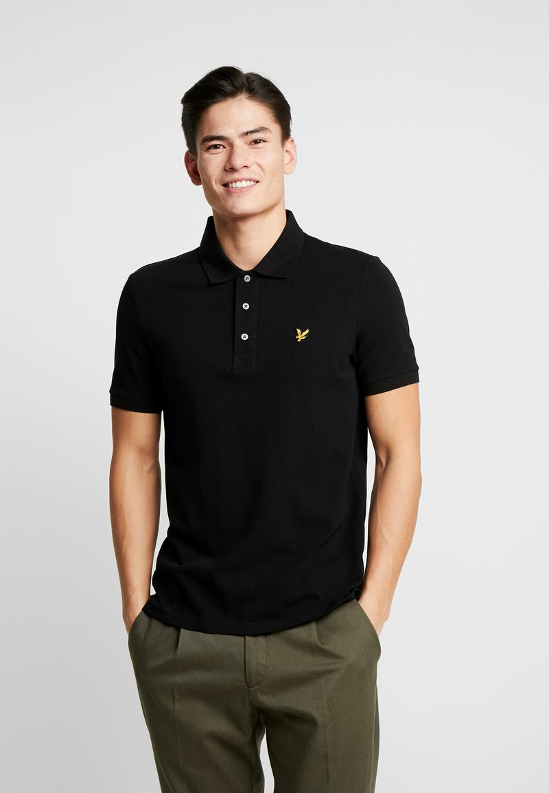 Lyle & Scott - PLAIN - Poloshirt - jet black