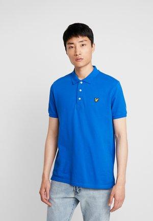 PLAIN  - Poloshirt - blue/ yellow